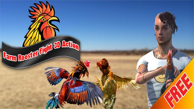 Farm Deadly Rooster Fighting Tiger