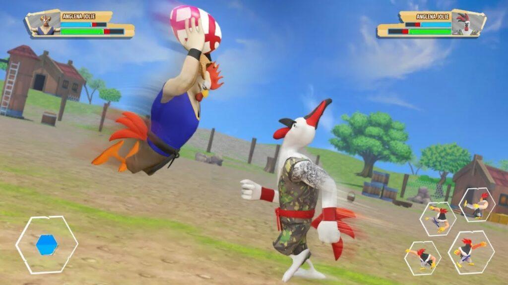 Kung Fu Chicken Fighting